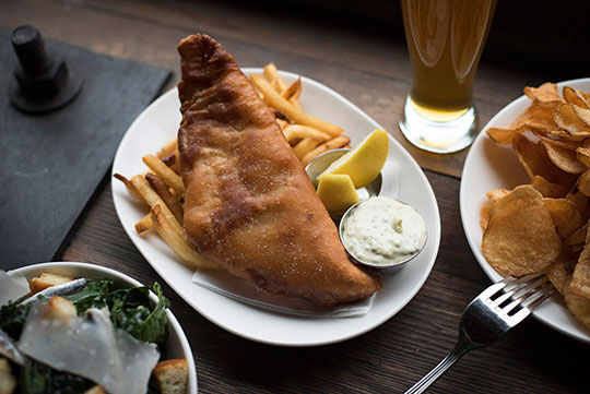 Fremont Brewery at Chippy's Fish & Drink   Ethan Stowell Restaurants